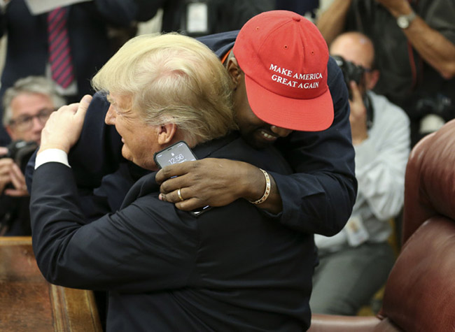 Donald Trump and Kanye West remix the government