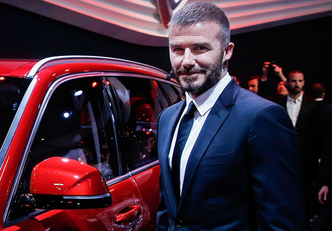 David Beckham launches Vietnam's first car manufacturer
