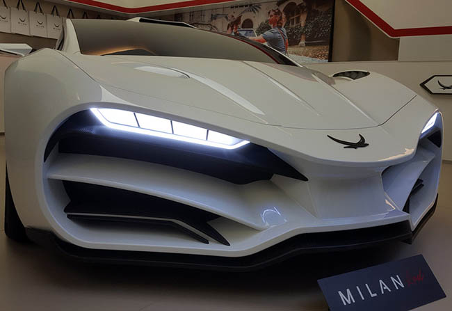 The Austrian Hyper car company has relaesed Milan Red for $2.6 million