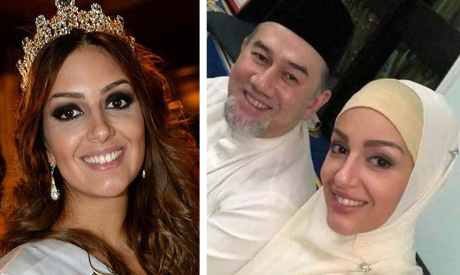 Ex-Miss Moscow is new Queen of Malaysia after converting to Islam