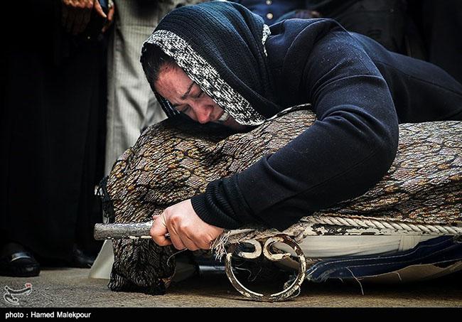 Payam Saberi's Funeral