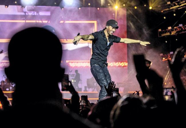 Enrique Iglesias, Amr Diab and The Black Eyed Peas Live in Riyadh