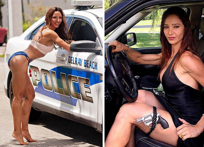 The Female Bodybuilder Hoda Jarrah in Pictures