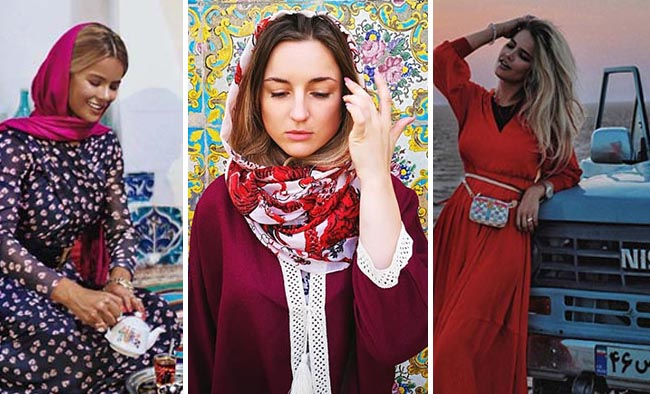 Russian Traveller Girls round the world