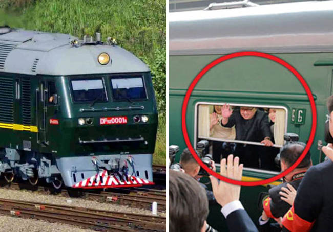 Secrets about Kim Jong Un's personal train
