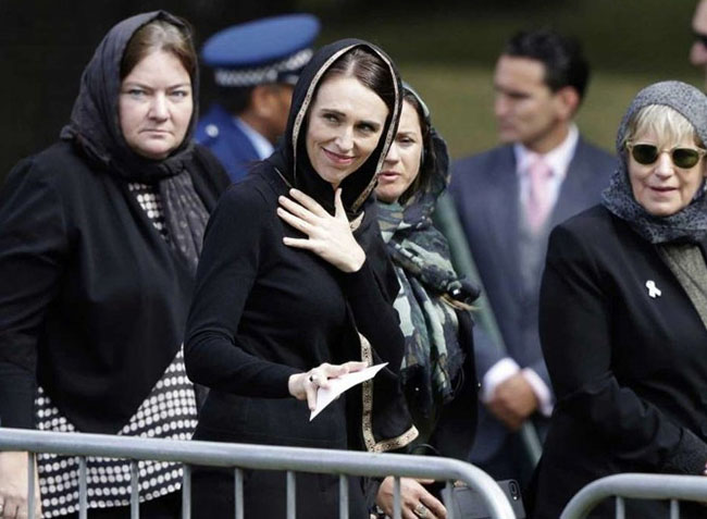 "New Zealand mourns: ""We are one,"" Jacinda Ardern tells crowd"