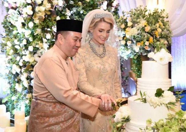 Kelantan Crown Prince of Malaysia weds Swedish Beauty