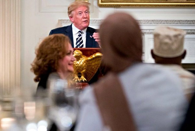 Donald Trump Hosts Iftar Dinner for Ramadan