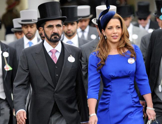 Dubai leader's wife Princess Haya dramatically leaves him and 'takes £31million to start new life'