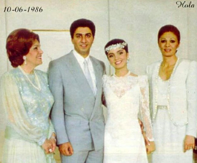 Reza and Yasmine Pahlavi's Wedding Anniversary