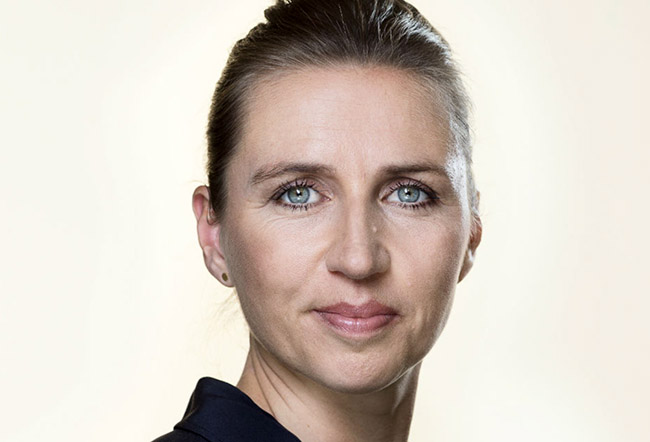 Mette Frederiksen with election victory for anti-immigrant stance