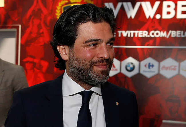 Mehdi Bayat was elected new head of the Belgian Football Federation