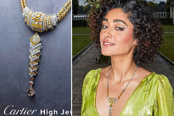 Golshifteh Farahani at Cartier Magnitude High Jewelry in London