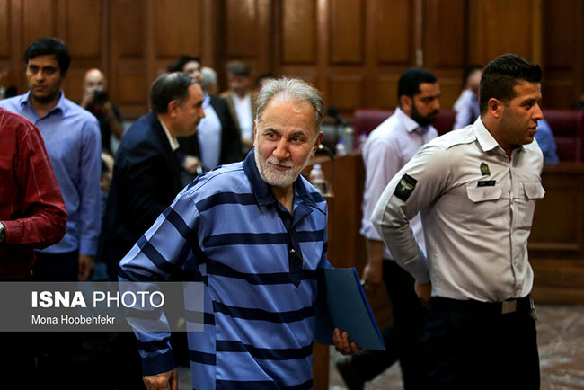 Mohammad-Ali Najafi for the Second time in Court