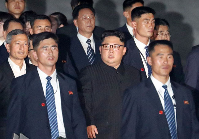 ON THE R-UN Paranoid Kim Jong-un