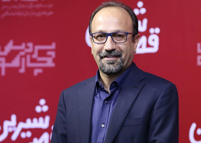 A. Farhadi on a red carpet of Movie in capital