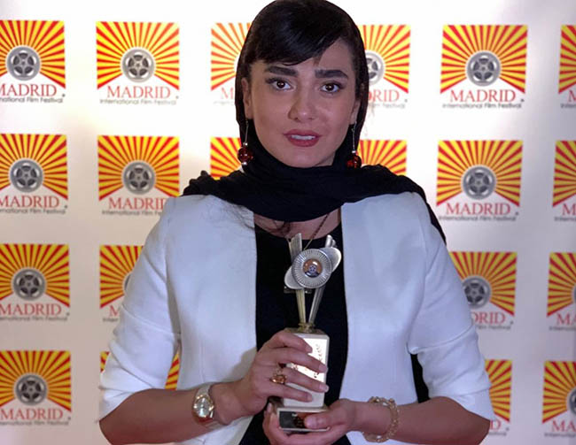 Mina Vahid Wins Best Actress at Madrid Film Festival