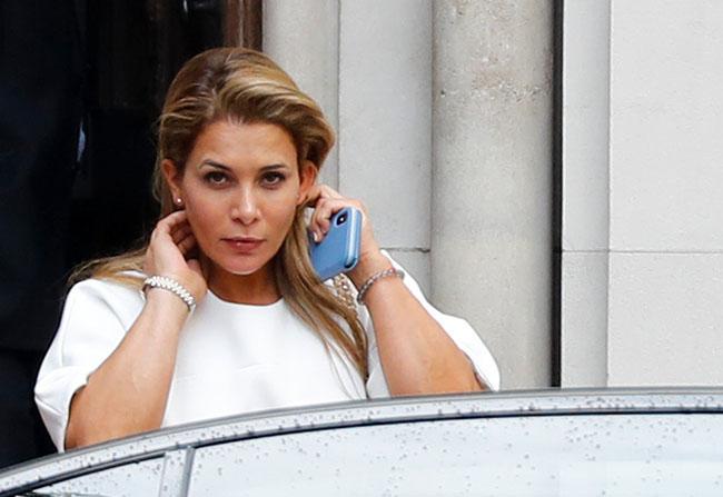 Dubai's Princess Haya applies for order in London
