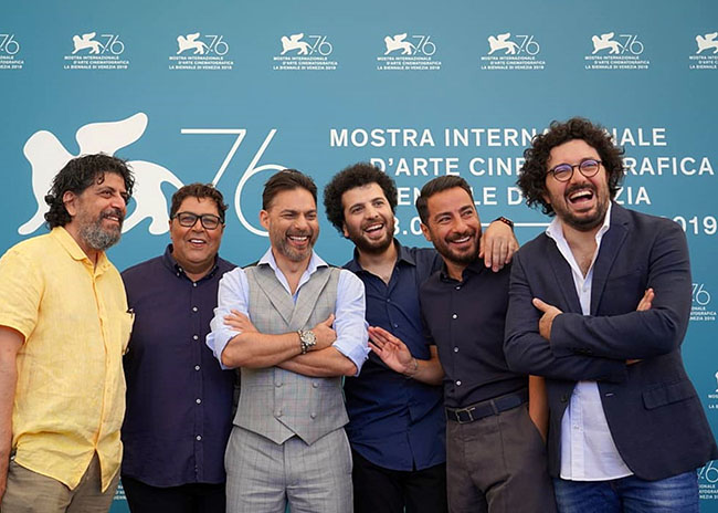 "Photocall ""6.5 Per Meter"" at Venice film festival 2019"