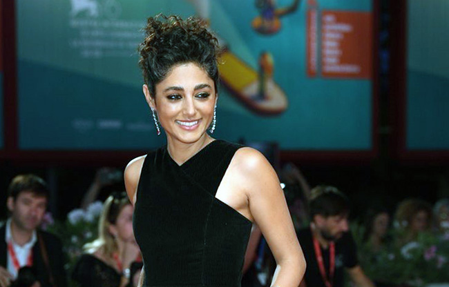 "Golshifteh Farahani at ""Om Det Oandliga"" (About Endlessness) Red Carpet Arrivals"