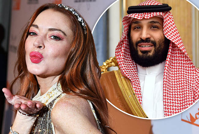 Lindsay Lohan and the Crown Prince of Saudi Arabia Are 'Getting Close'