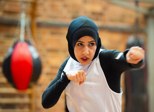 Germany's female Muslim boxer