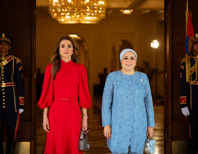 Jordan King talks with president in Cairo