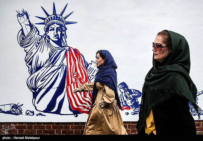 New Wall Painting for The U.S Embassy