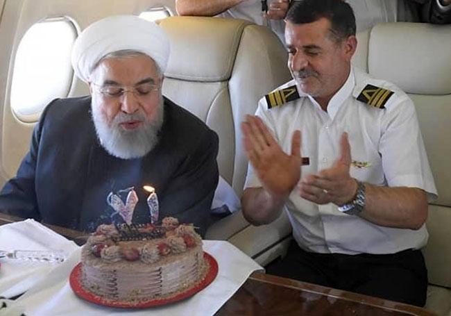 Hassan Rouhani 71th birthday surpise