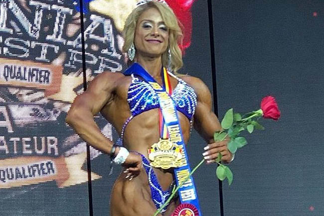 Maryam Bamdad will get to compete in the Master Olympia