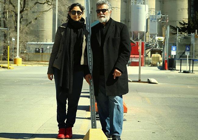 Golshifteh Farahani and Behrouz Vossoughi in U.S