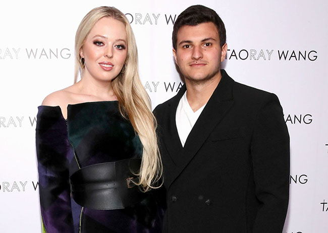 Tiffany Trump, boyfriend Michael Boulos in Photos