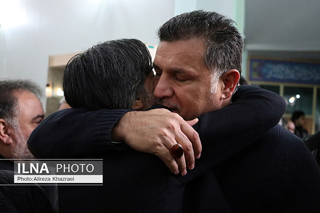 Vahid Shamsaei' s Father Funeral