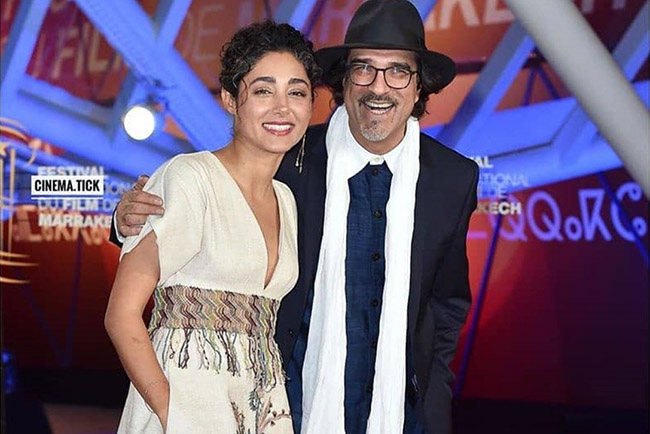 Golshifteh Farahani at the 18th Marrakech Film Festival