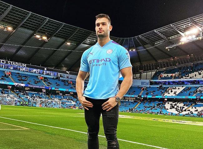 Sam Asghari Starting his career as a Trainer at Man city