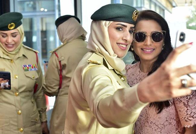 Rani Mukerji in Dubai