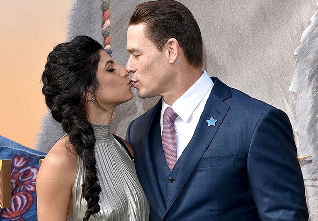 John Cena and Shay Shariatzadeh Pack on the PDA at Dolittle