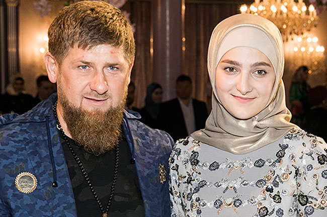 Daughter of Islamist Chechen Head bags World Fashion Award