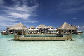 WORLD'S LARGEST AND MOST LUXE OVERWATER VILLAS OPEN IN THE MALDIVES