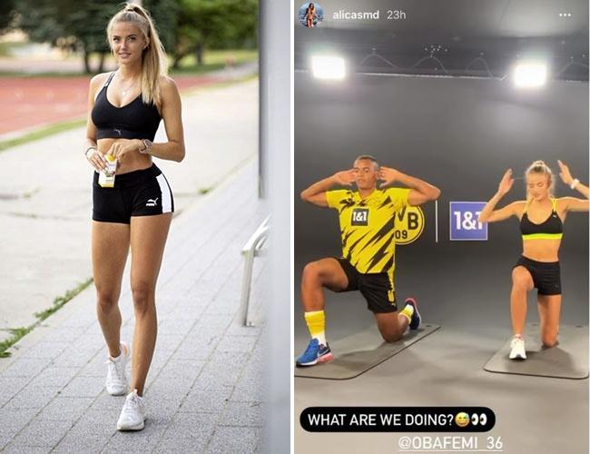 Borussia Dortmund S New Fitness Trainer Alica Schmidt Page 2 Of 5 News