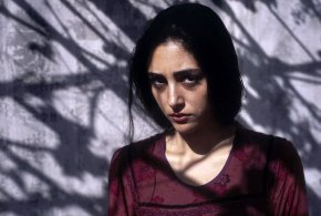 New Photo shooting of Golshifteh Farahani behind the scene of a movie