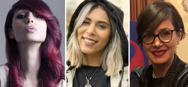 Photos of Luna Shad, Panida and Boshra Dastournezhad